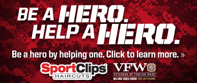 Sport Clips Monkey Junction ​ Help a Hero Campaign